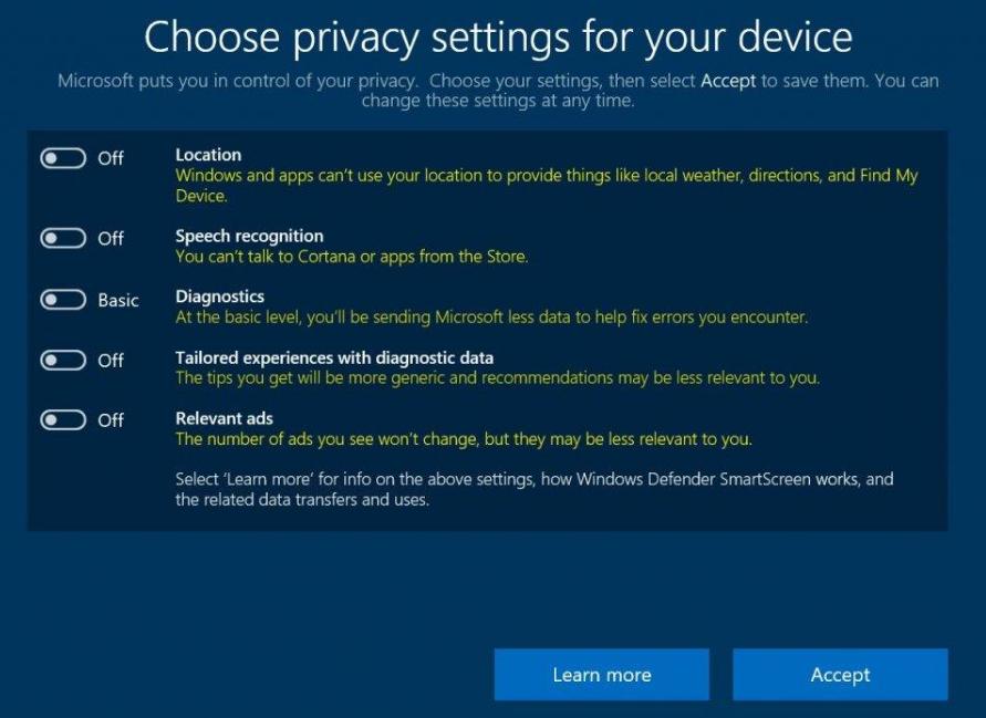 windows privacy 2